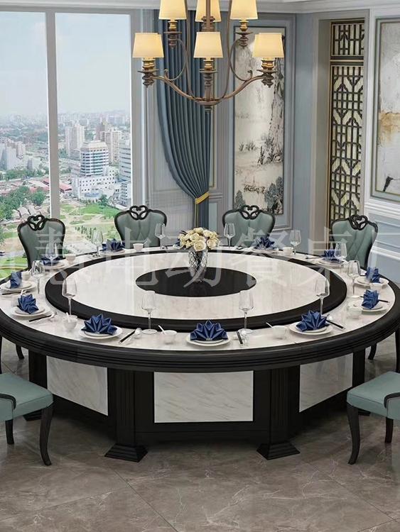 新款电动餐桌家用酒店(www.lanhui88.net)