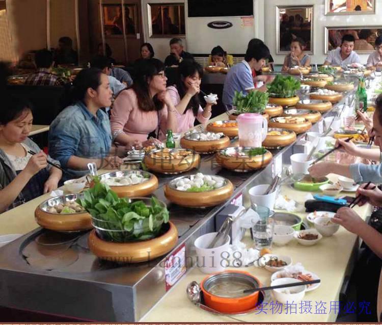 小型回转火锅工厂直销价格(www.lanhui88.net)